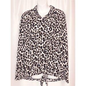 Susan Graver - Leopard Print Shirt